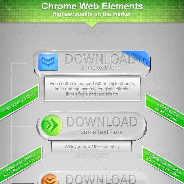 Chrome Web Elements