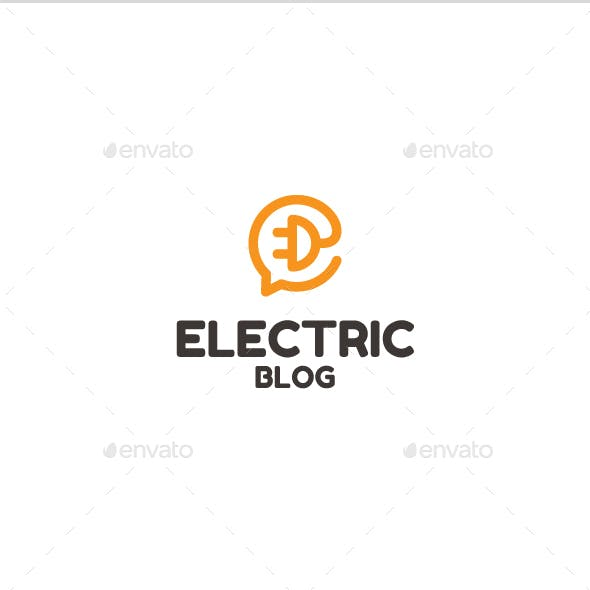 Electric Blogo Logo