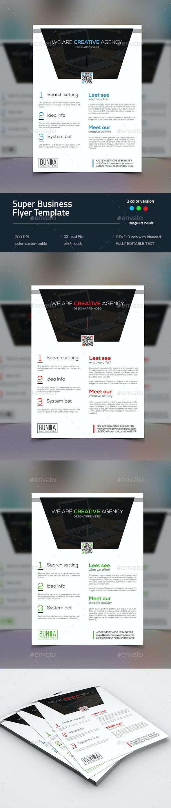 Super Business Flyer - Corporate Flyers