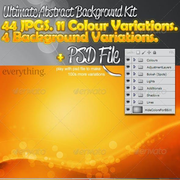 Abstract Vector Website and Desktop Background's