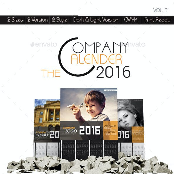 The Company Wall Calendars