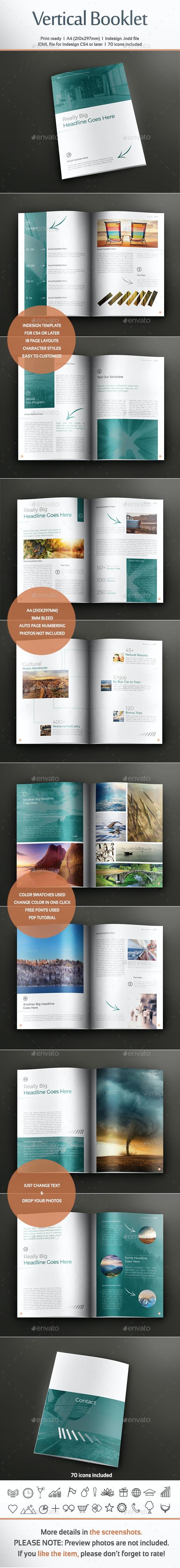 Vertical Booklet - Corporate Brochures