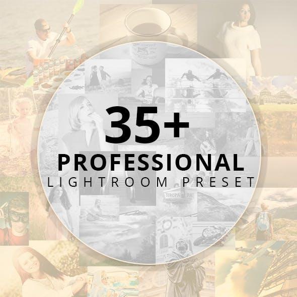 35+ Professional Lightroom Preset