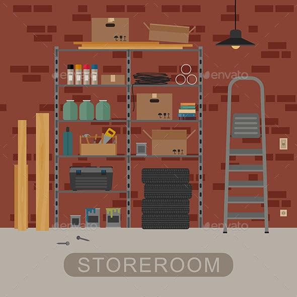 Storeroom - Buildings Objects
