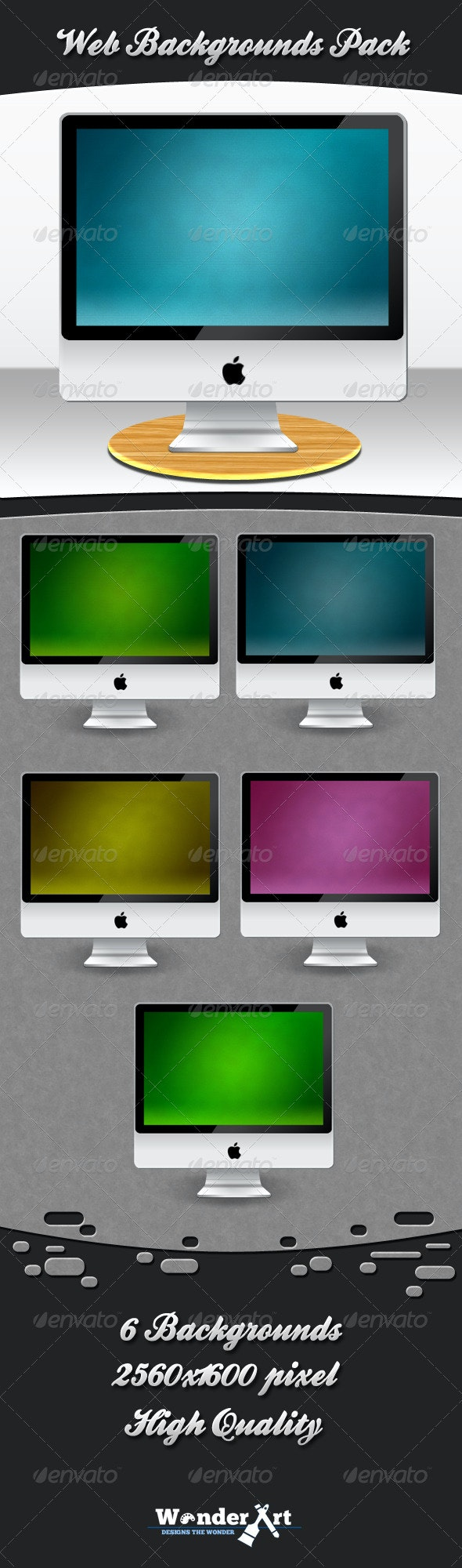 Web Backgrounds Pack - Backgrounds Graphics
