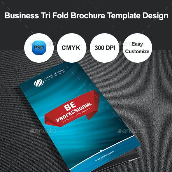 Business Tri Fold Brochure Template Design