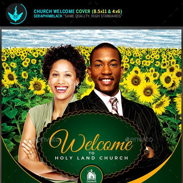 Church Welcome Cover Template 2