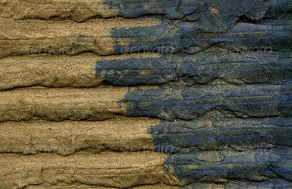 Weathered & Stained Corrugated Cardboard - Miscellaneous Textures