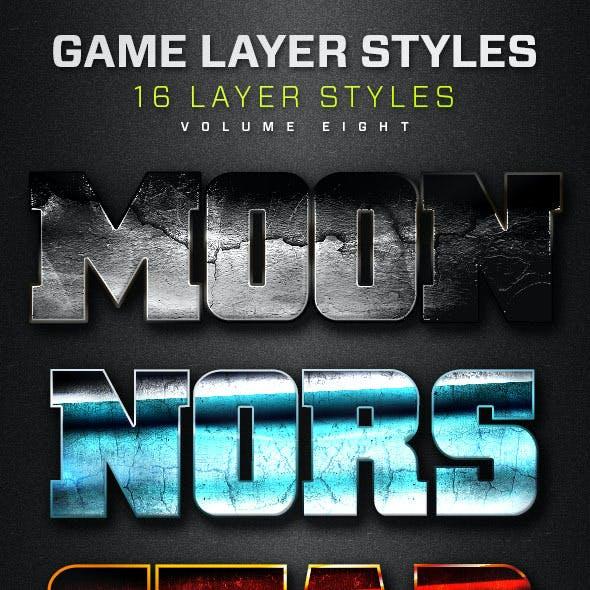 16 Game Layer Styles Volume 8