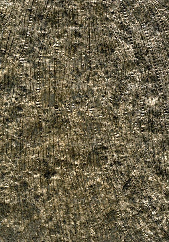 Crinkled Tin 1 - Metal Textures