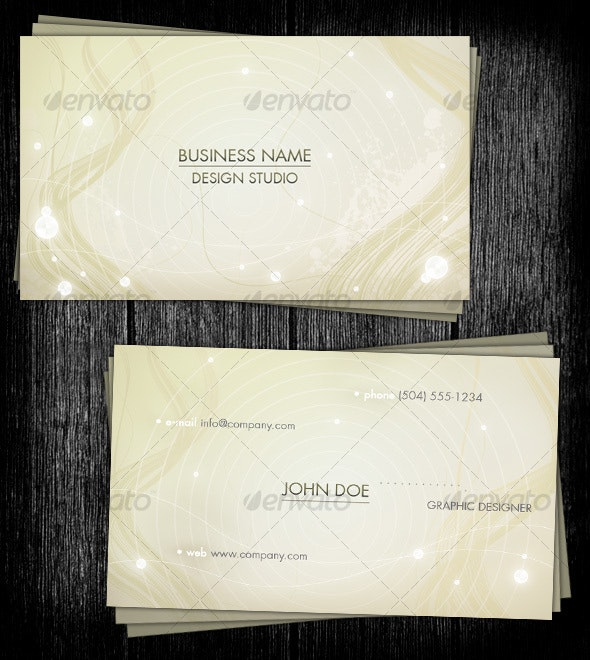 Harmony Business Card - Creative Business Cards