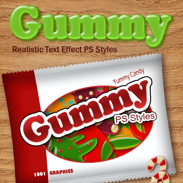 Realistic Gummy Candies Styles ASL