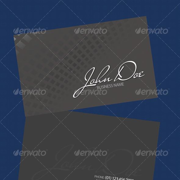 Gris Business Card