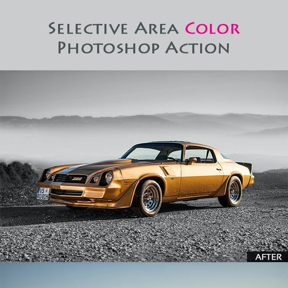 Selective Area Color Action