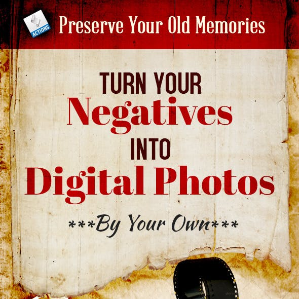Turn Your Negatives into Digital Photos