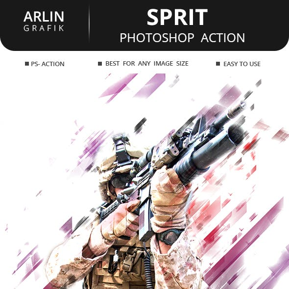Sprit Photoshop Action