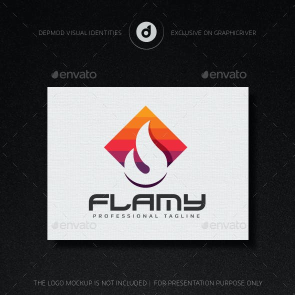 Flamy Logo