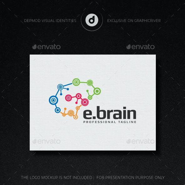 e-Brain Logo