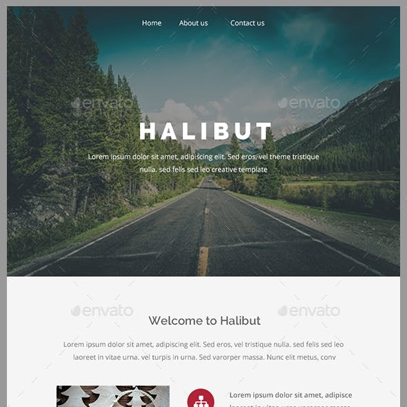 Halibut - email template