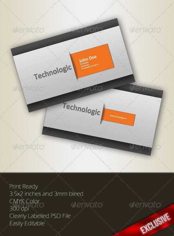 Orange S Business Card - Creative Business Cards