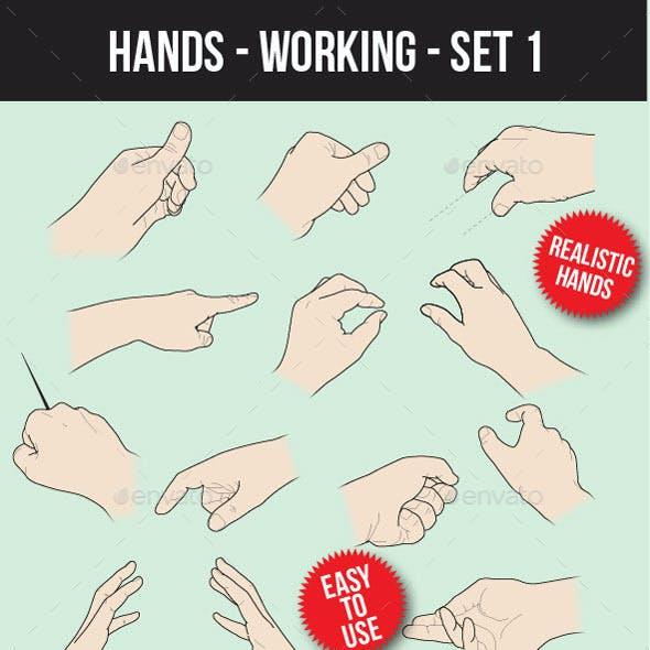 Hands Working Set 1
