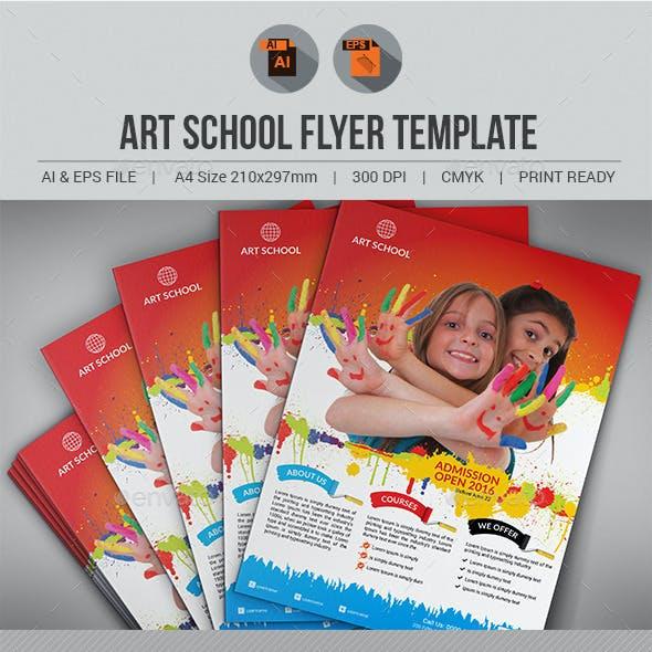 Art School Flyer V3