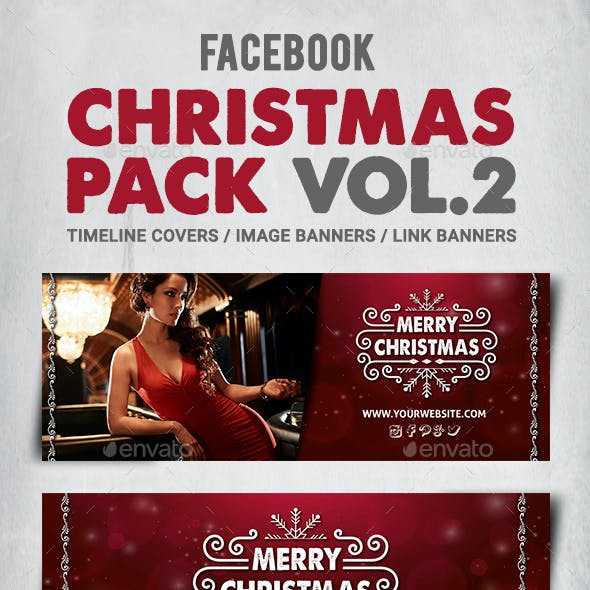 Facebook Christmas Pack Vol.2