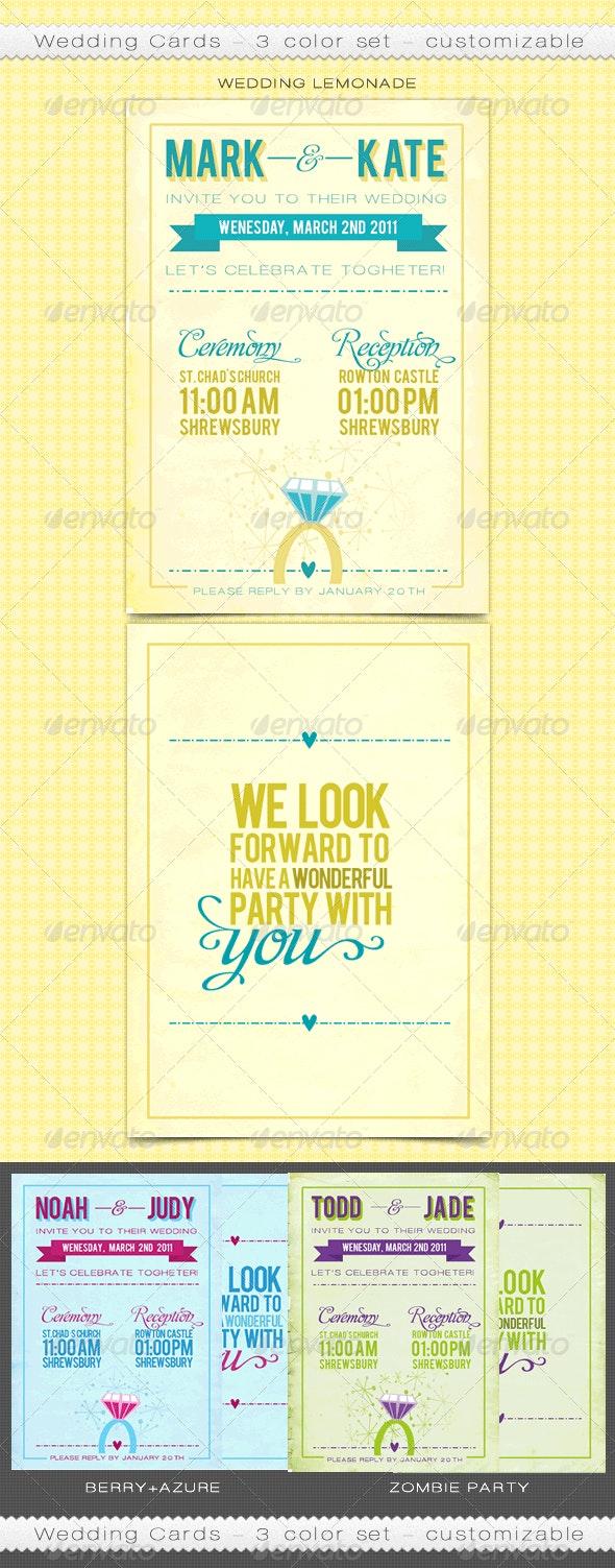 Customizable Wedding Cards - Weddings Cards & Invites