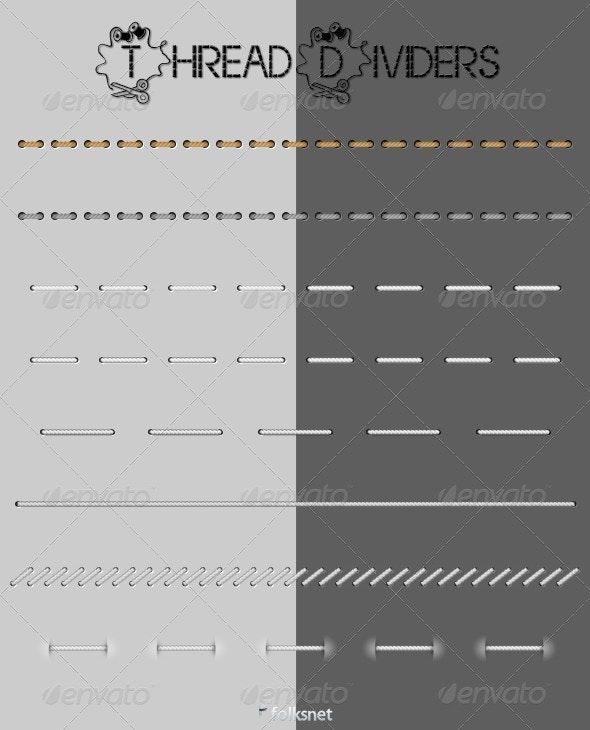 Thread Web Dividers - Web Elements