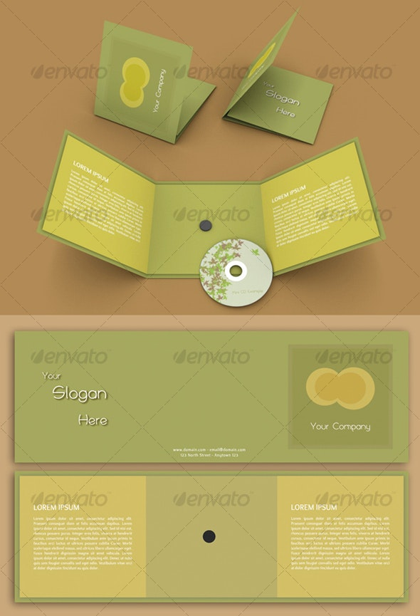 PaperBOX for MiniCD (8cm) - Miscellaneous Print Templates