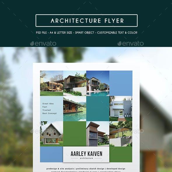 Architecture Flyer / Magazine Ad