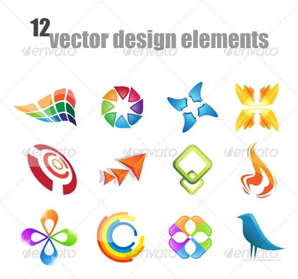 Vector design elements - Decorative Vectors