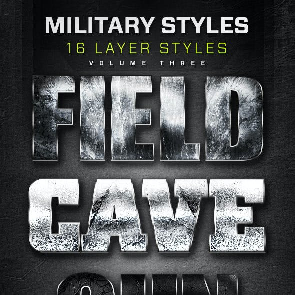 16 Military Layer Styles Volume 3