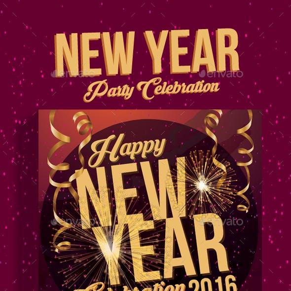 New Year Celebration Party