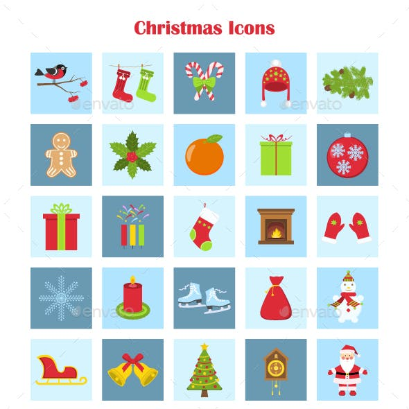 Vector Collection of Christmas Icons
