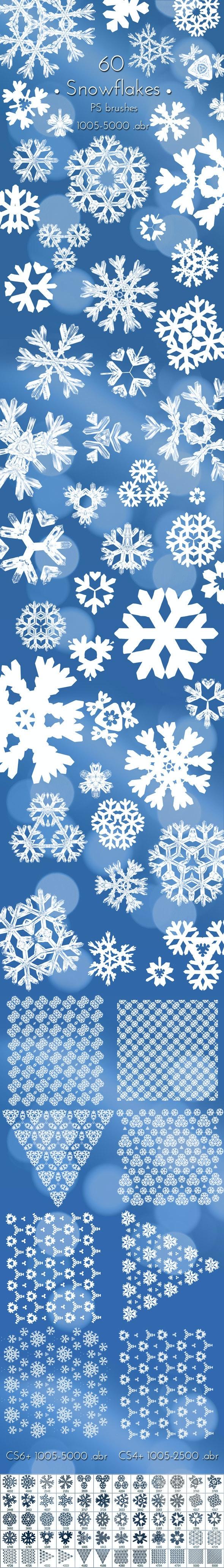 Christmas Snowflakes Brushes - Miscellaneous Brushes