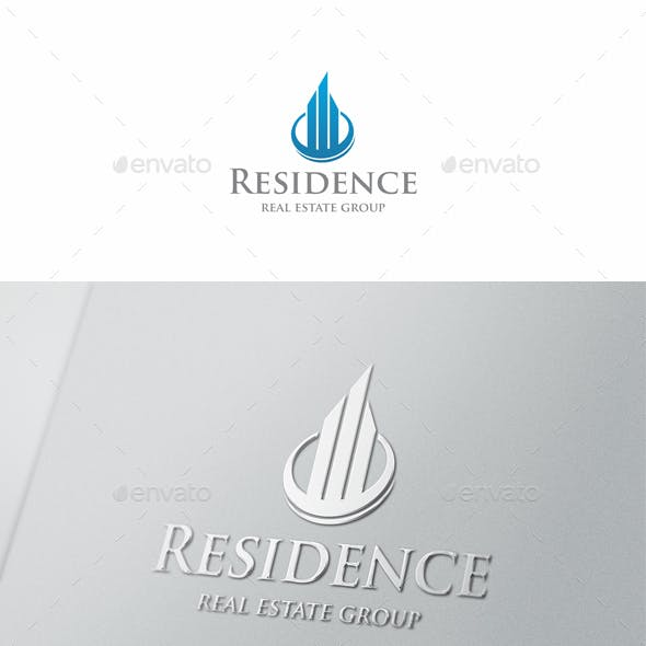 Residence Real Estate Logo