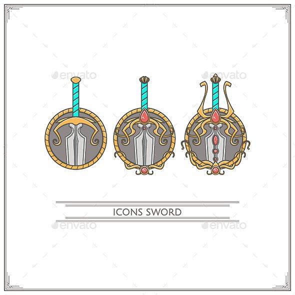 Icons Fantasy Sword