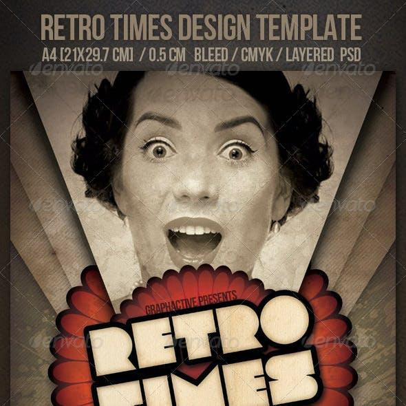 Retro Times Design Template