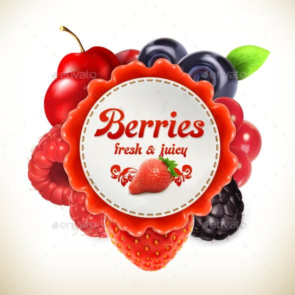 Berries Label