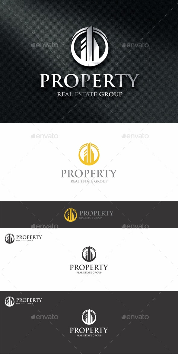 Property Estate Logo - Buildings Logo Templates