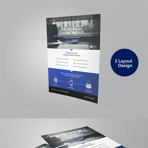 Corporate Flyer 3 Style