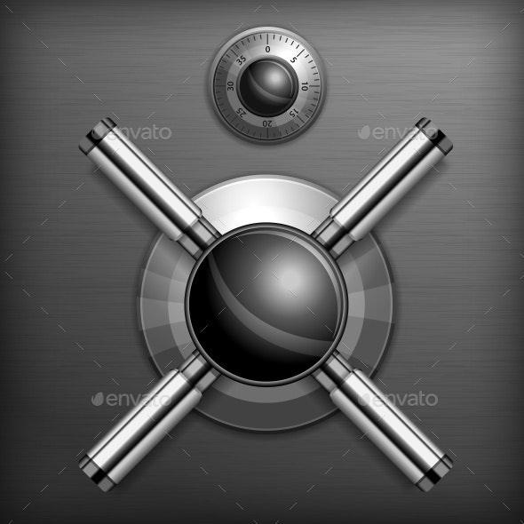 Safe Lock Background - Concepts Business