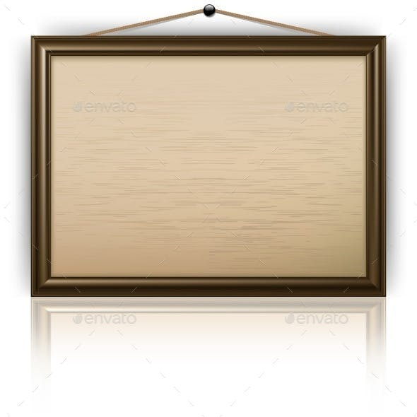 Empty Notice Board