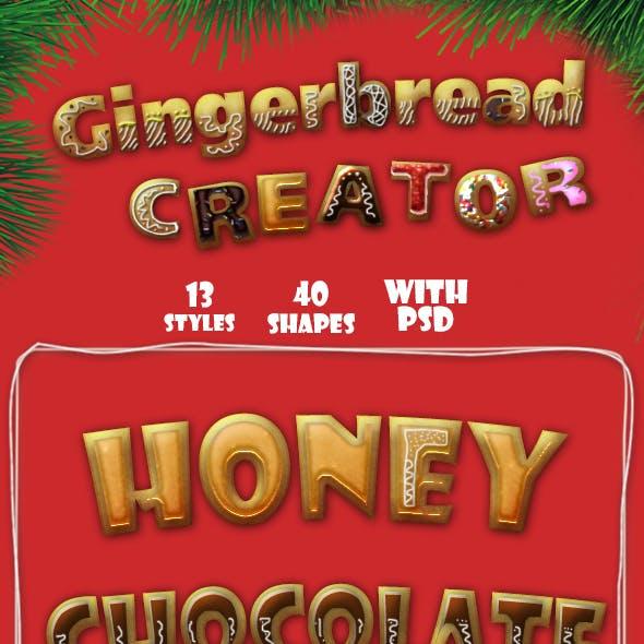 Gingerbread Creator