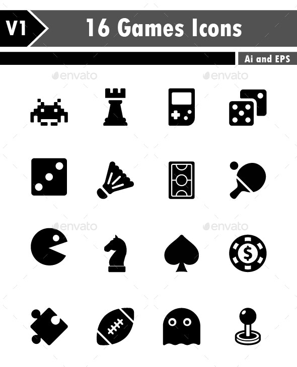 Games Icons - Technology Icons