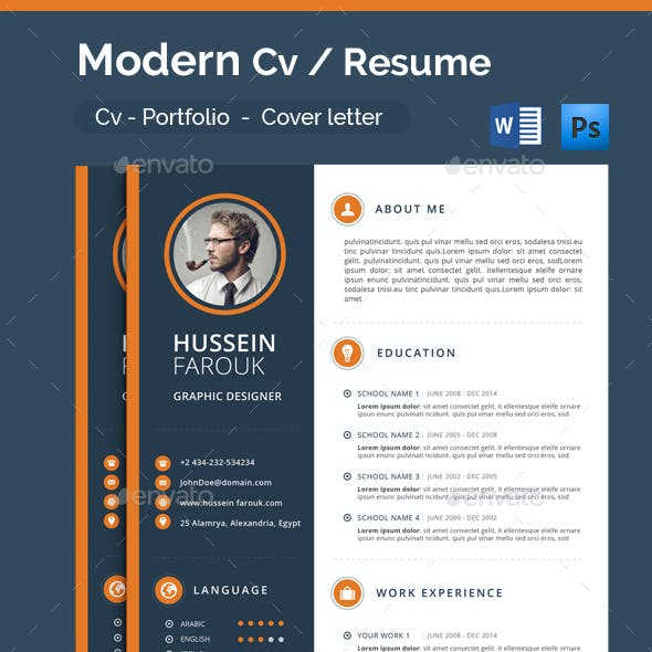Modern Cv from graphicriver.img.customer.envatousercontent.com