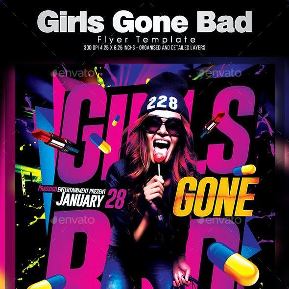Girls Gone Bad Flyer Template