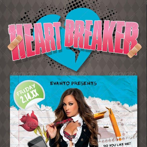 Heartbreaker Flyer Template