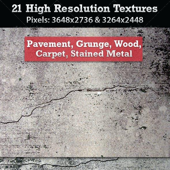21 High Resolution Textures
